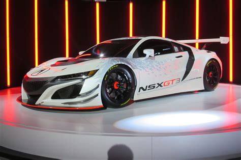 acura the car acura nsx gt3 race car storms into new york auto show