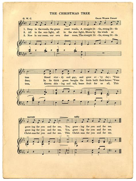 song free vintage sheet printable the graphics