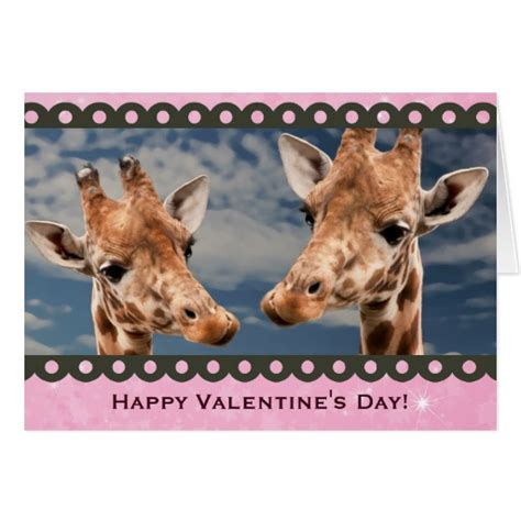 Mug Lucu Kode Happy Animals Mug animals giraffe happy valentines day photo card zazzle