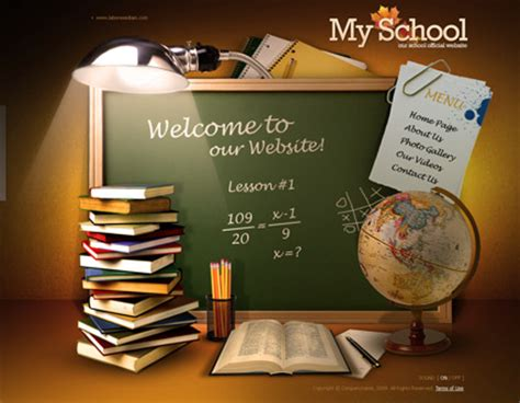 9 Best Images Of Best School Website Templates Free School Templates Website Schools Websites School Photo Templates Free