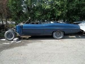1968 Pontiac Parts Purchase Used 1968 Pontiac Convertible Project