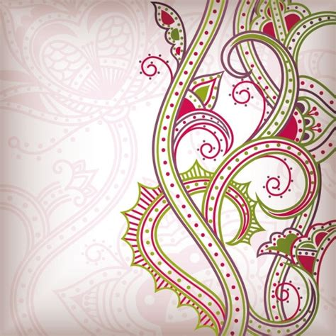 abstract pattern free download abstract floral pattern background 02 vector free vector