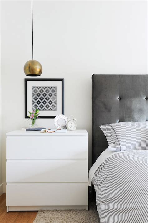 ikea malm nightstand white ikea malm 3 drawer chest contemporary bedroom oliver
