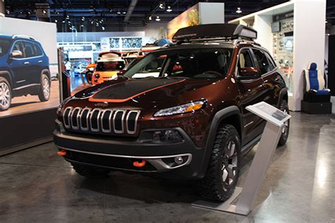 copper jeep cherokee wrangler copper crawler leads jeep s charge at sema jk forum