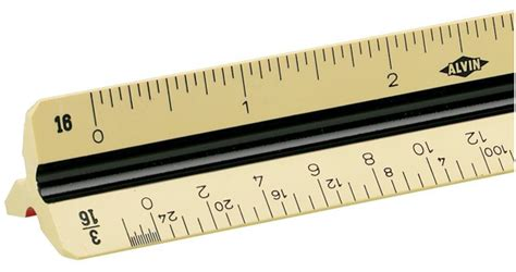 Alvin 270p Architects Scale Architects by Alvin Series 270p Boxwood Color Draftsman Plastic