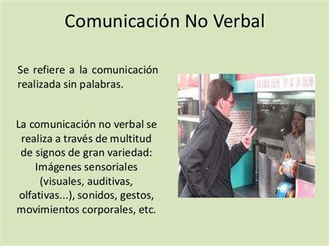 imagenes sensoriales olfativas comunicacion verbal y no verbal