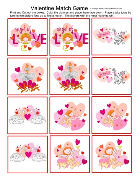 printable games for valentine s day 17 best images about valentines day ideas candy grams