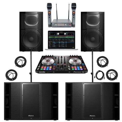 complete dj system with lights what s included