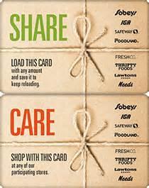 Gift Card Balance Sobeys - gift cards sobeys inc