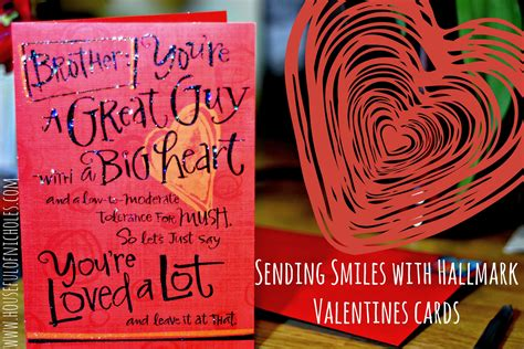 Hallmark Gift Card - send love smiles with hallmark valentine s cards houseful of nicholes