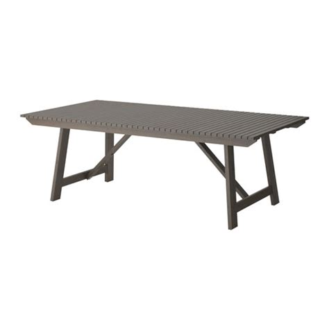 Ikea Outdoor Dining Table Grey Glazed Ikea Sundero Patio Armchair Dining Table Dining Furniture Outdoor