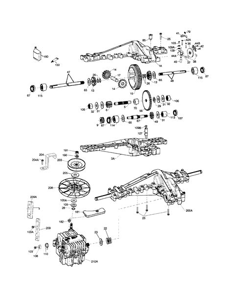 hydrostatic transmission diagram craftsman hydrostatic transmission diagram 28 images