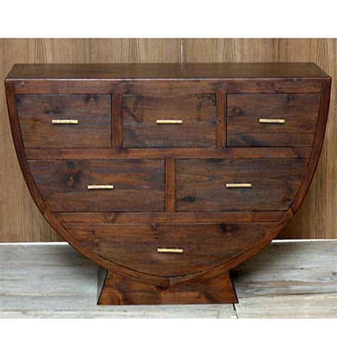 commode arrondie commode originale en teck in line pas cher origin s meubles