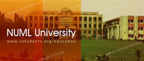Umt Mba Fee Structure by Numl Islamabad Admission 2018 Courses