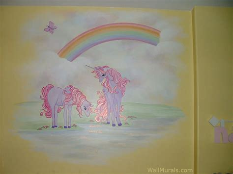 unicorn wall mural room wall murals by colette wall murals for
