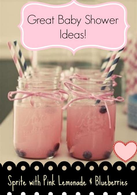 baby shower cocktail ideas baby shower ideas lemonade in jars baby room ideas