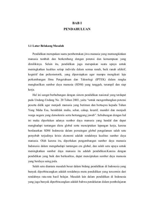 format makalah pdf jenis format daftar pustaka contoh proposal ptk non daftar