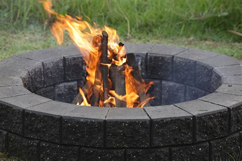 building pit mortar build your own pit and enjoy the backyard all year reno addict