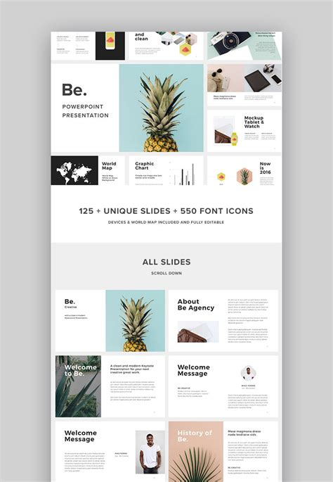 18 Best Powerpoint Template Designs For 2018 Powerpoint Design Template
