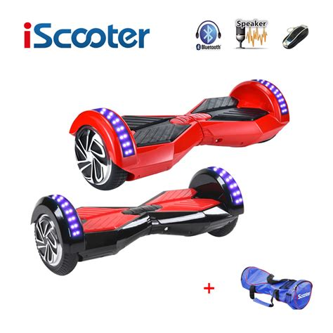 Hoverboard Smartwheel Smart Balance Wheel 7 Inch Bluetooth iscooter hoverboard bluetooth 8 inch 2 two wheel self balance electric scooters hover boards