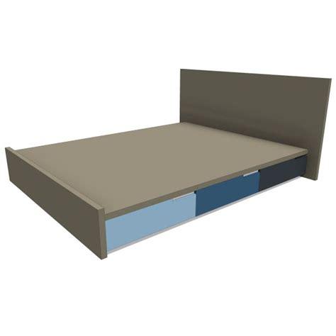 blu dot bed blu dot modu licious bed 10373 2 00 revit families