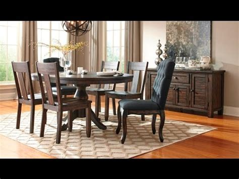 trudell dining collection   ashley youtube