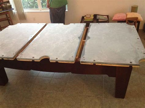 how to take apart a pool table disassemble a pool table brokeasshome com