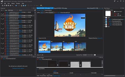 tutorial android visual studio 2015 graphics debugging wave engine games in visual studio 2015