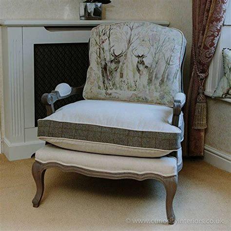 printed fabric armchairs sstylish and beautiful voyage maison florence enchanted