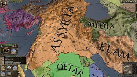 emperor ashurbanipal   empire  assyria wip image