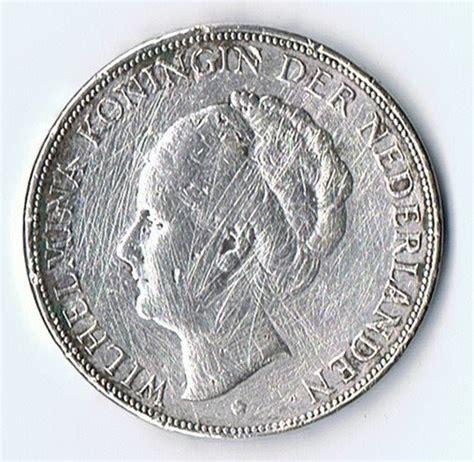 Koin Elizabeth 11 koin kuno langka coin silver 2 5 gulden wilhelmina