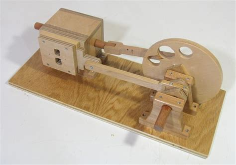 Handmade Engine - plans for wooden air engine pdf woodworking
