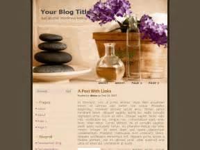 spa menu templates spa treatment theme eblog templates