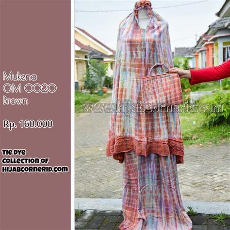 Umbrella Kulot 4 corner id mukenah tie dye mukenah motif tie
