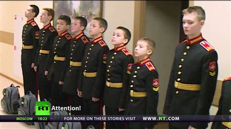 St Kidos Army russian army hogwarts rt looks into daily routine at elite boarding school