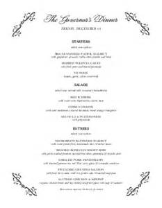 buffet menu template classic buffet menu catering menus