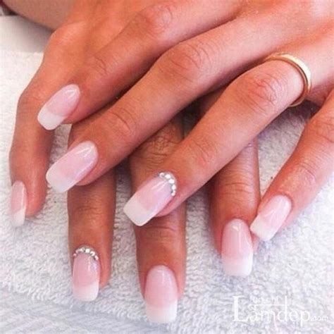 Simple Nail Pics by 14 Wedding Nail Ideas To Try Pretty Designs