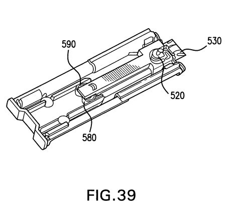 Drawer Mechanism by Patent Us8083304 Self Closing Mechanism For Drawer