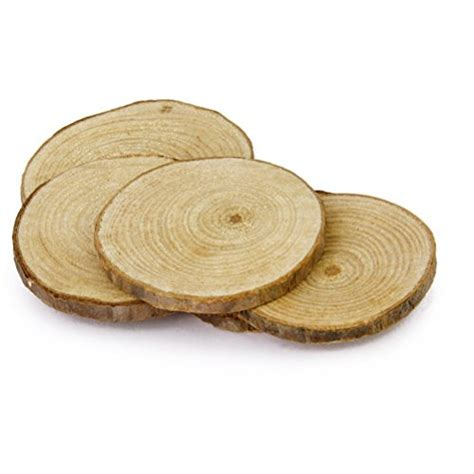 dekobedarf hochzeit vorcool 20stk runde naturholzscheiben deko holz 5 6 cm