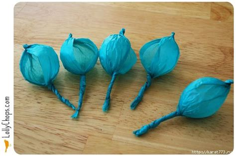 How To Make Tissue Paper Balls - diy beautiful tissue paper flower using a golf