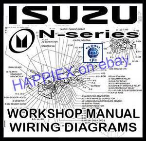 Isuzu Bighorn Workshop Manual Isuzu N Series Truck Lorry Workshop Service Repair