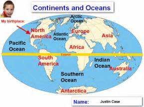 World Map With Labels by Alfa Img Showing Gt Continents And 5 Oceans Map