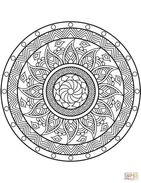 printable mandala coloring pages flower mandala coloring page free printable coloring pages