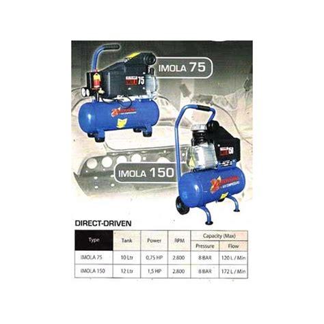 Harga Kompresor Matrix 0 75 Hp lakoni imola 75 kompresor angin udara 3 per 4 pk