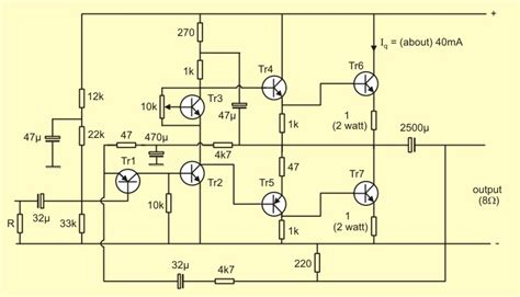Power Lifier 600 Watt 2n3055 transistor power lifier circuit diagram wiring