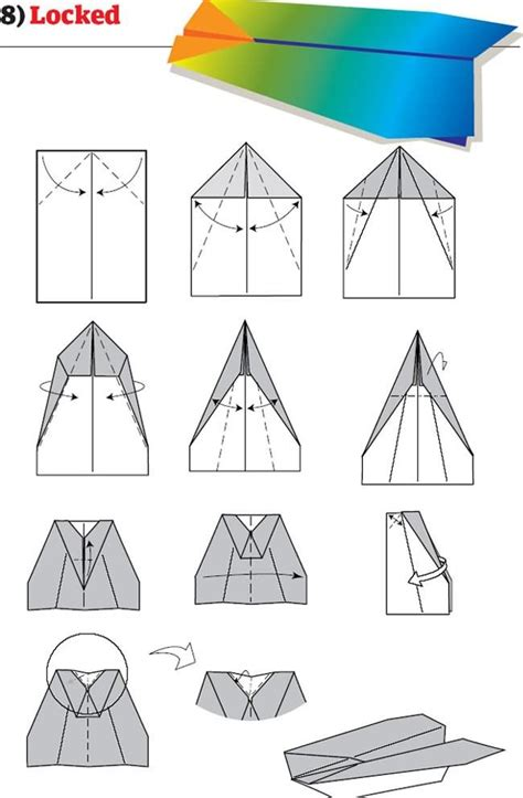 How To Fold Paper Airplanes Step By Step - 1000 images about paperairplane physics project on