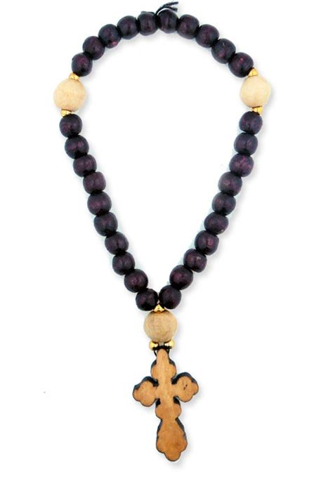 orthodox rosary prayer prbeapr38 orthodox russian wooden prayer st