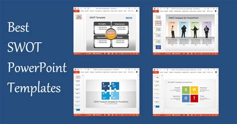 best powerpoint free templates best swot powerpoint templates