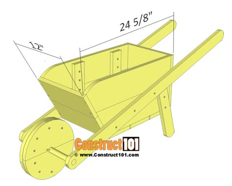 Wheelbarrow Planter Plans by Wheelbarrow Planter Plans Drawings Material List
