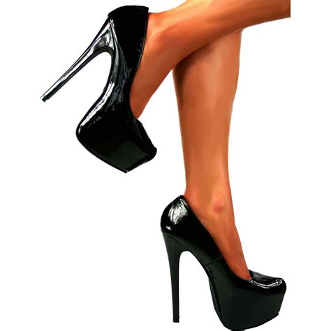 platforms high heels shoekandi high heel concealed platform stiletto shoes